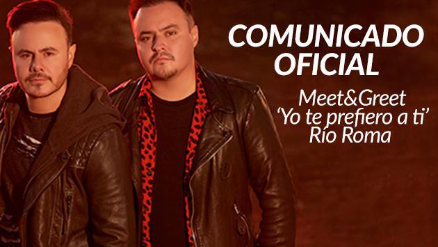 Comunicado Oficial: Meet and Greet