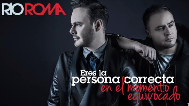 Río Roma estrenó nueva balada 'Eres la persona correcta en el momento equivocado'