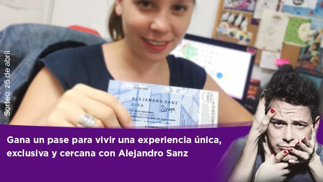 Ritmo Romántica te lleva a la prueba de sonido de Alejandro Sanz en Lima y Arequipa
