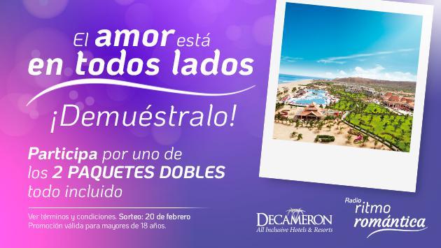 Ritmo Romántica te lleva al Hotel Decameron de Punta Sal con todo incluído