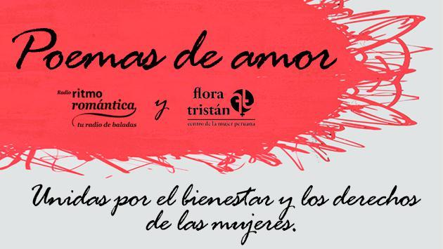 Ritmo Romántica y la ONG Flora Tristán unen fuerzas en 'Poemas de amor'
