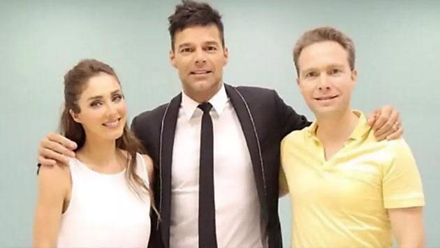 ¿Sabes por qué esta foto de Anahí de RBD junto a Ricky Martin preocupó a fans?