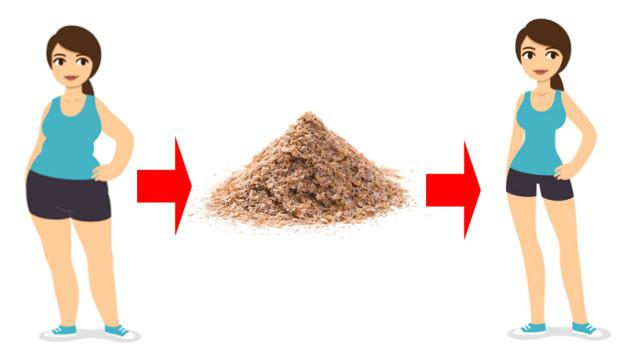 Salvado de trigo para perder peso sin efecto rebote