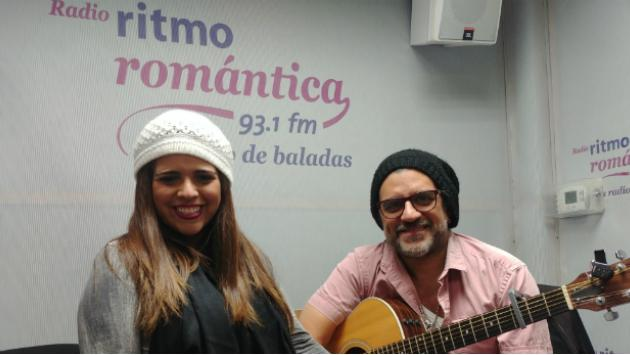 Disfruta los 'Acústicos Románticos' que haré junto a mi novio Rik Nuñez en Ritmo Romántica
