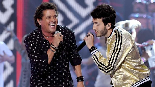 Sebastián Yatra y Carlos Vives ocupan número uno en Billboard