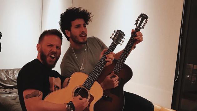 ¿Sebastián Yatra y Noel Schajris preparan nueva canción?