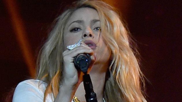 Así se maquilló Shakira a petición de sus hijos