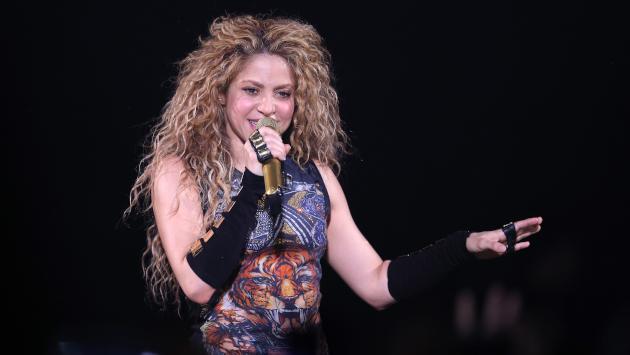 Este es el entrenamiento que practica Shakira