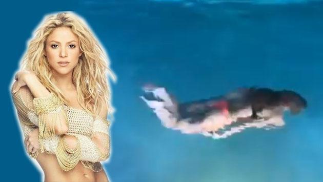Shakira, una sirena de la noche que causas furor en Facebook [VIDEO]