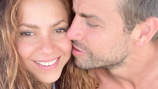 Shakira disfruta de unas paradisíacas vacaciones en familia