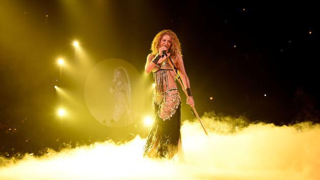 Shakira encantó con su presentación en la final de la Copa Davis