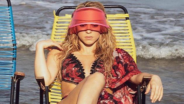 ¿Shakira lista para el verano?