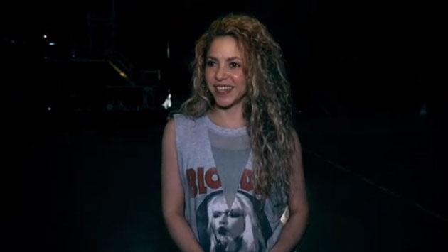 Shakira mostró la mejor mercancía para 'El Dorado World Tour'