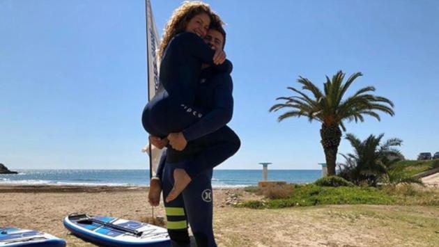 Shakira publica esta tierna fotografía al lado de Piqué
