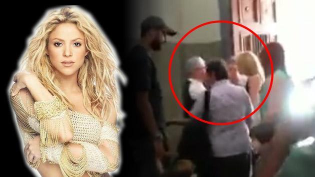Shakira se reencontró en Barranquilla con un personaje de su pasado [VIDEO]