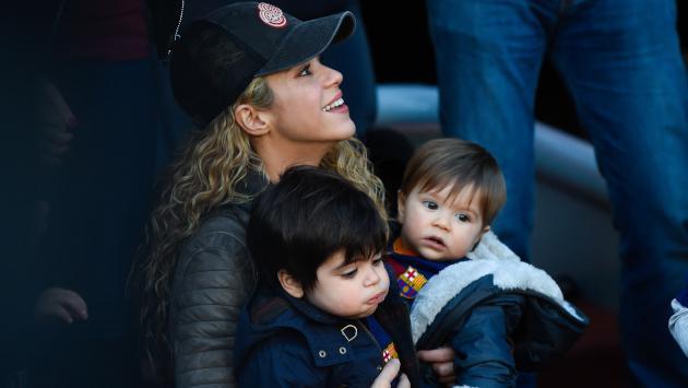 Mira cómo crecieron los hijos de Shakira