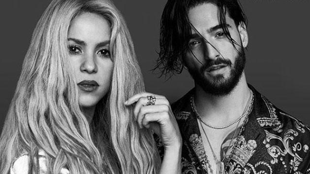 Shakira y Maluma graban video de 'Clandestino'