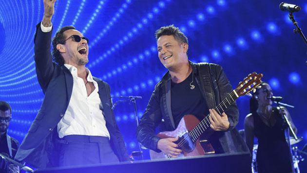 ¿Son Alejandro Sanz y Marc Anthony mejores amigos?
