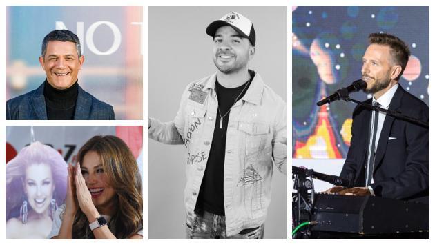 Artistas que se unieron al reto de 10 años en las redes sociales