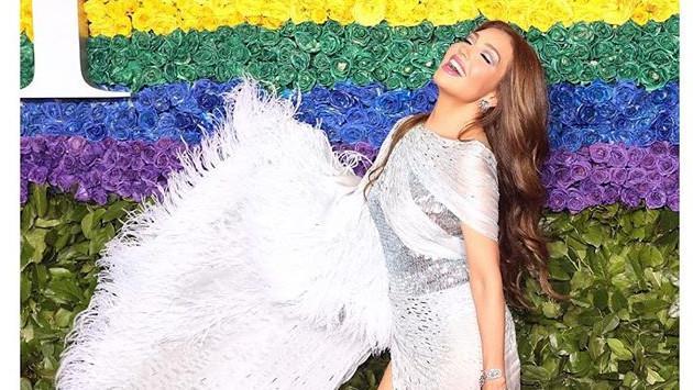 Thalía celebra el mes del orgullo gay con este mensaje