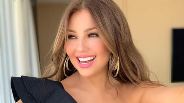 Thalía celebra sus nominaciones a los Premios Juventud 2019