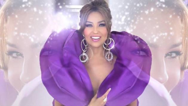 Thalía celebró los 70 millones de views del videoclip de 'Lento'