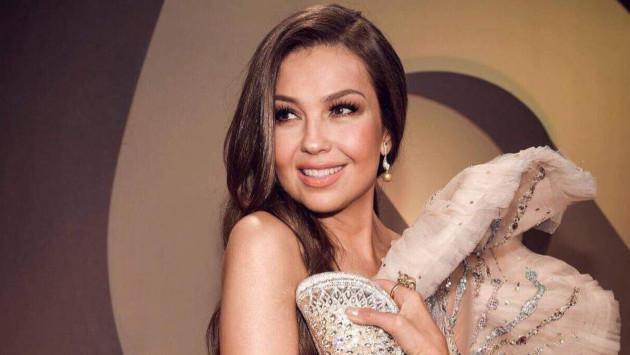 Thalía comparte video de divertida sesión de fotos