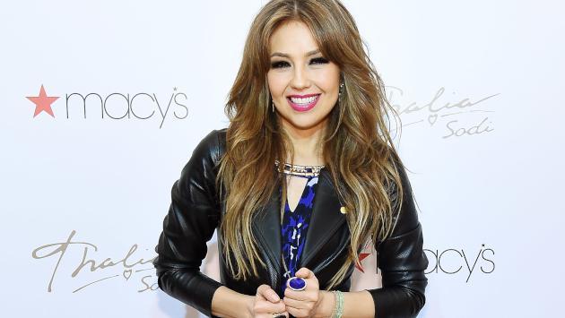 Así fue la entrevista más divertida de Thalía durante este año