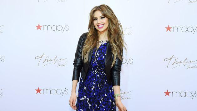 Thalía se prepara para las celebraciones de Año Nuevo