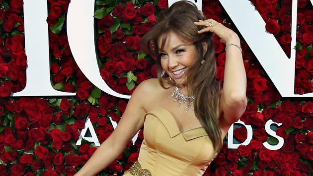 Thalía conoció a este ícono de la moda y cumplió su sueño