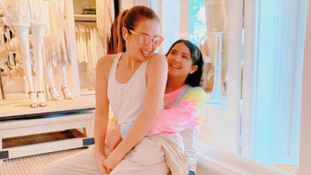 Thalía se sorprende del crecimiento de su hija Sabrina