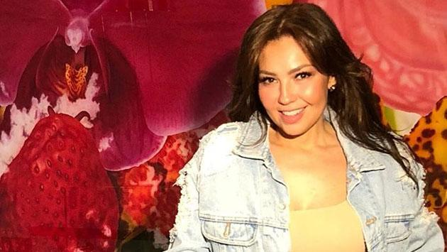 Thalía sorprende con escote de infarto en Instagram