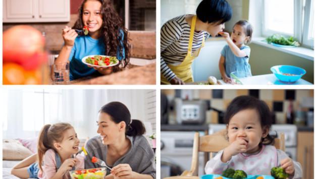 Tips para que tus hijos coman verduras