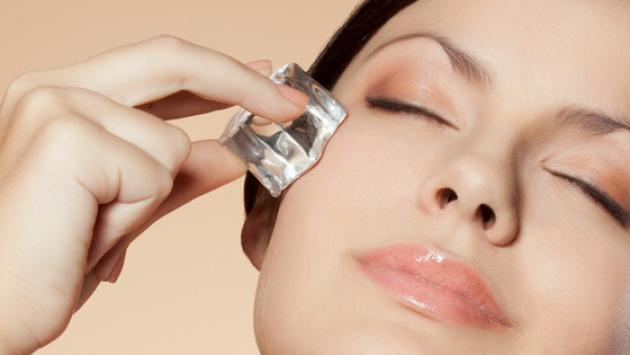 Tratamientos con hielo para la piel