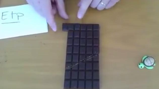 Truco del chocolate mágico alborota Facebook