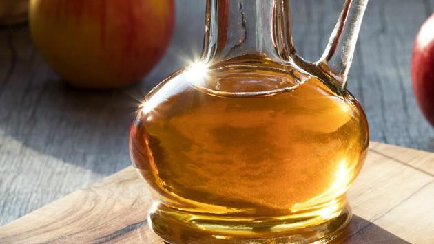 Tratamiento para cuidar una infección sinusal con vinagre de manzana