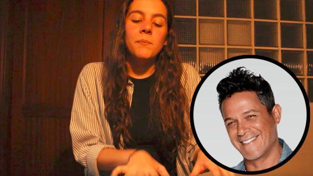 Valeria Castro, la joven que encantó a Alejandro Sanz con su talento [VIDEO]