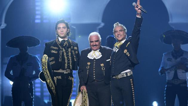 Vicente, Alejandro y Alex Fernández encantaron en los Latin Grammy 2019