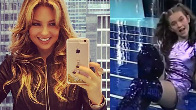 Video de Thalía cuando tenía 14 años se convierte en viral