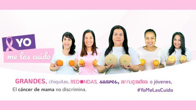 #YoMeLasCuido para prevenir el Cáncer de Mama