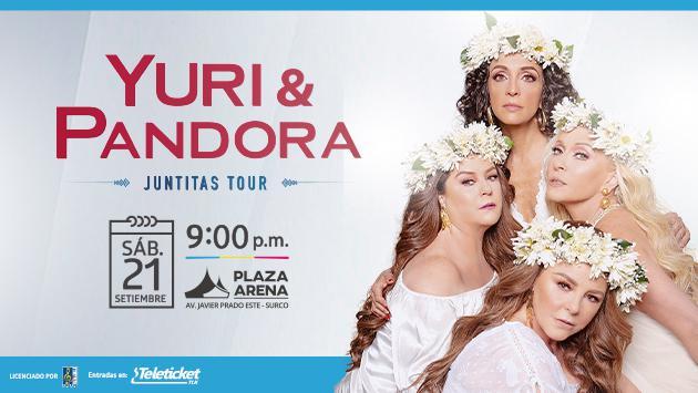 Yuri y Pandora, por primera vez, juntas en Lima con