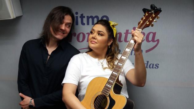 Yuridia confesó en cabina que grabó dúo con Río Roma