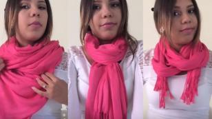 10 formas originales de usar una pashmina