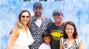 Carlos Vives y Juan Luis Guerra disfrutaron de un desayuno en familia