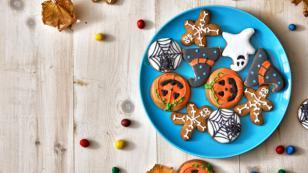 Deliciosas galletas para Halloween
