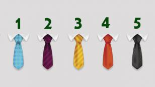 El test de las corbatas