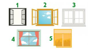 El test de las ventanas revela tu personalidad