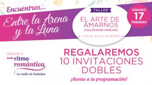 """""""Encuentros Entre la Arena y la Luna"""" con Blanca Ramírez: Taller """"El arte de amarnos"""""""