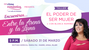 Gana entradas para el Taller: 'El poder de ser mujer' de Blanca Ramírez