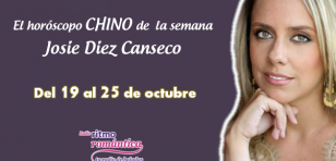 Horóscopo chino de Josie Diez Canseco: Del 19 al 25 de octubre